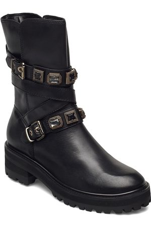 Dune Kvinna Ankelboots - Reecie Shoes Boots Ankle Boots Ankle Boot - Flat