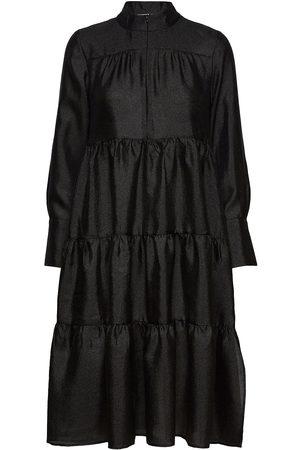 Second Female Kvinna Midiklänningar - Rosalina Midi Dress Knälång Klänning