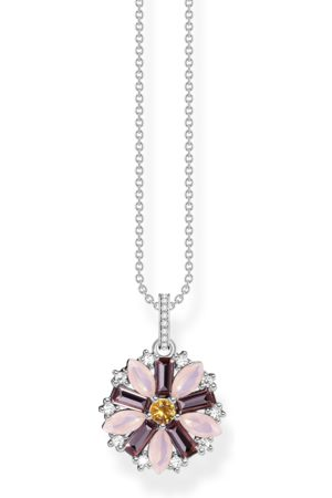 Thomas Sabo Kvinna Halsband - Halsband blomma silver