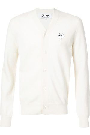 Comme des Garçons Man Koftor - Cardigan with white heart