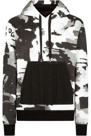 Dolce & Gabbana Kamouflagemönstrad hoodie