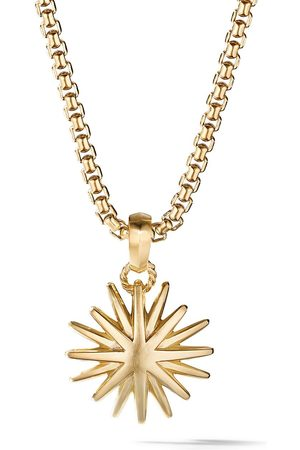 David Yurman 18kt yellow gold Starburst Charm Enhancer