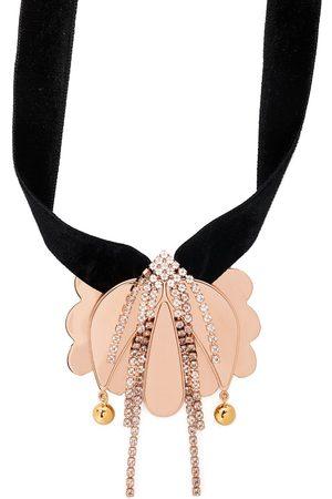 La DoubleJ Blommigt draperat halsband