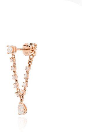 Anita Olivia diamantörhänge i 18K roséguld