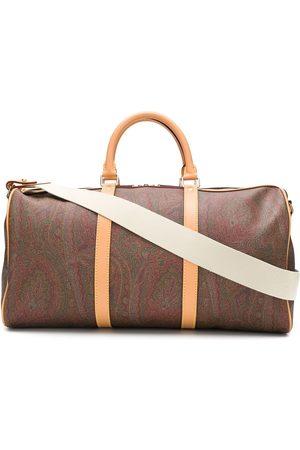 Etro Man Weekendbags - Paisleymönstrad weekendväska