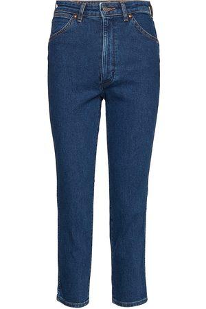 Wrangler 11wwz Boyfriend Jeans Blå
