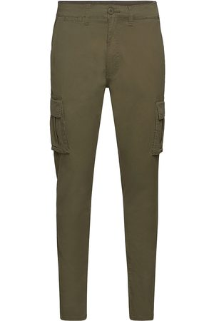 Solid Man Cargobyxor - Sd Truc Cargo Firm Waist Trousers Cargo Pants