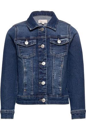 KIDS ONLY Barn Jeansjackor - Konsara Med Blue Dnm Jacket Noos Outerwear Jackets & Coats Denim & Corduroy