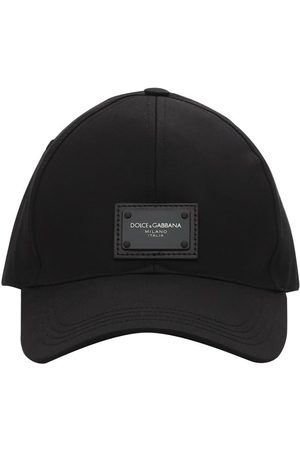 Dolce & Gabbana Man Kepsar - Logo Plaque Cotton Baseball Cap