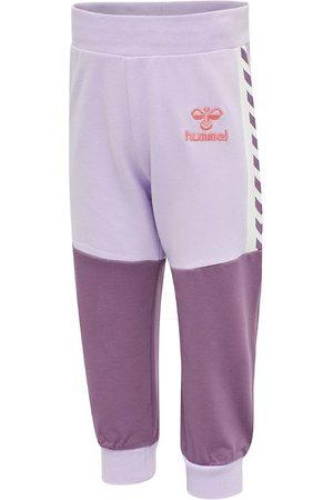 Hummel Flicka Joggingbyxor - Sweatpants - hmlViola - Pastell Lilac