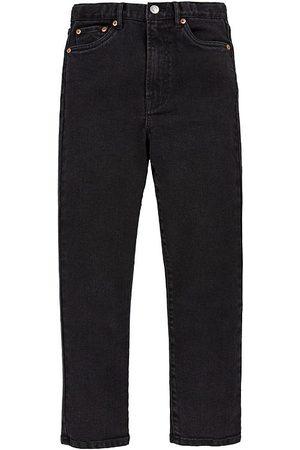 Levi's Flicka Straight - Jeans - Ribcage Straight Ankel - Black Heart
