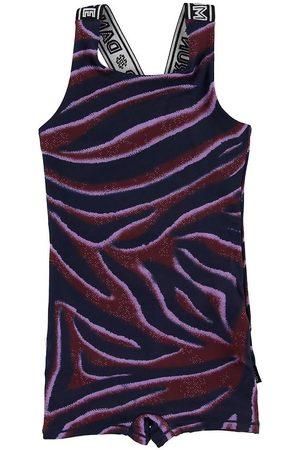 Molo Flicka Träningskläder - Gymnastikdräkt - Orchidiana - Zebra Stripes