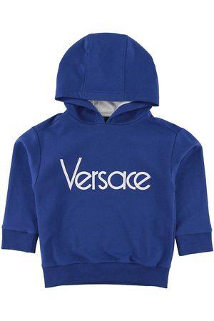 VERSACE Hoodie - Blå/ m. Logo