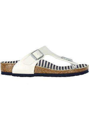 Birkenstock Sandaler - Sandaler - Gizeh - Nautical Stripes White
