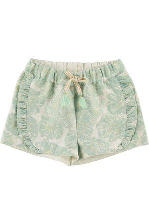 Mini A Ture Flicka Shorts - X-Mas Shorts - Merle - Aqua Foam Green