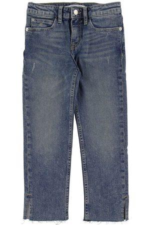 Calvin Klein Flicka Trekvartsbyxor - Jeans - Slim Crop - Denim