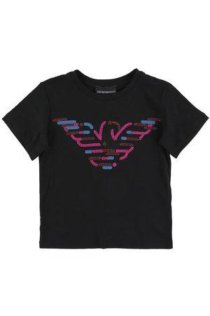 Emporio Armani T-shirt - m. Paljetter