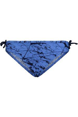 Hummel Flicka Bikinis - Bikini Trosor - HMLLeda - UV50+ - Blå/Marinblå