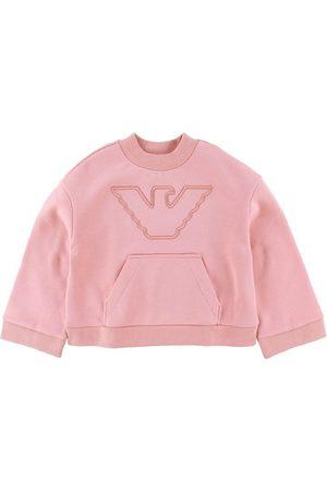 Emporio Armani Flicka Sweatshirts - Sweatshirt - Mayfair m. Logo