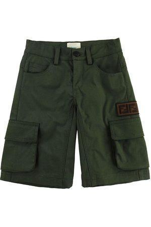 Fendi Kids Shorts - Militärgrön