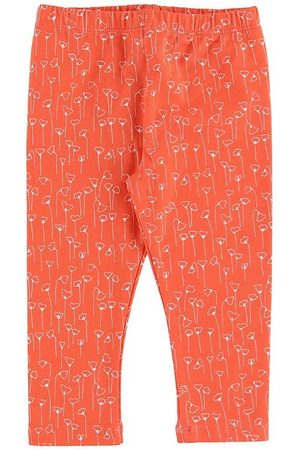 Gro Flicka Leggings - Leggings - Malak - Matt Red