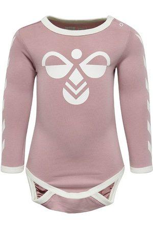 Hummel Flicka Bodys - Body l/ä - HMLFlipper - Lavendel m. Logo