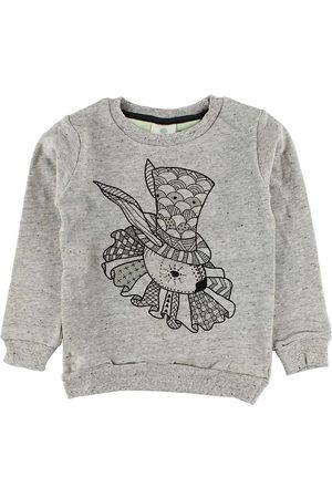 EN FANT Sweatshirts - Sweatshirt - Gråmelerad m. Kanin
