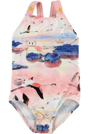 Molo Baddräkt - UV50+ - Nakia - Flamingo
