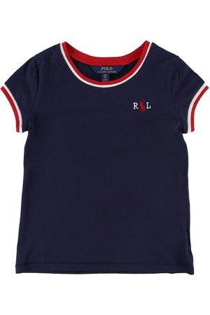 Ralph Lauren Flicka Pikétröjor - Polo T-shirt - Marinblå m. /