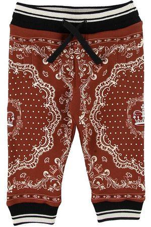 Dolce & Gabbana Sweatpants - Bordeaux m. Mönster