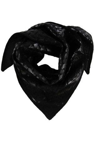 LALA BERLIN Halsdukar - Halsduk - 100x50 - Triangle Neo Black Foil S - Nero
