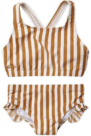 Liewood Flicka Bikinis - Bikini - Juliet - UV50+ - Mustard/Creme de la Creme
