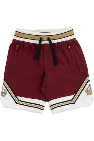 Dolce & Gabbana Pojke Shorts - Shorts - Bordeaux m. /