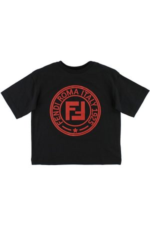 Fendi Kids T-shirt - m. Logo