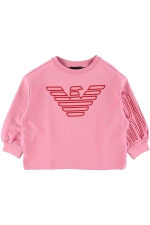 Emporio Armani Flicka Sweatshirts - Sweatshirt - m. Logo