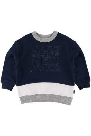 Marc Jacobs Pojke Sweatshirts - Sweatshirt - Marinblå m. Text