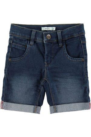 NAME IT Pojke Shorts - Shorts - Sofus - Noos - Medium Blue Denim