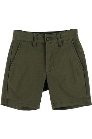 Grunt Shorts - Ludvig Buzz - Militärgrön