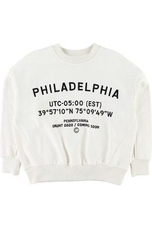 Grunt Sweatshirt - Alberte - Broken White