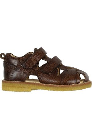 ANGULUS Sandaler - Sandaler - Rödbrun m. Velcro