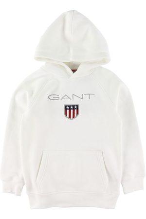 GANT Hoodie - Shield Logo - Eggshell