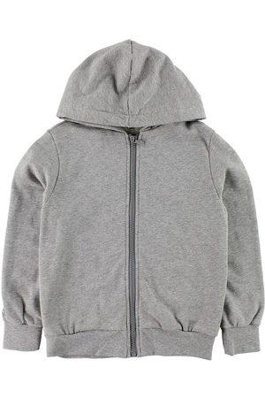 Fendi Pojke Sweatshirts - Kids Cardigan m. Huva - Sweat - Gråmelerad