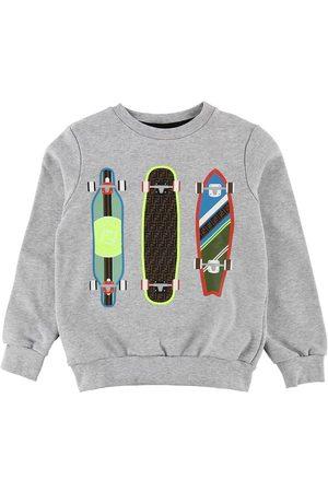 Fendi Pojke Sweatshirts - Sweatshirt - Gråmelerad m. Skateboards