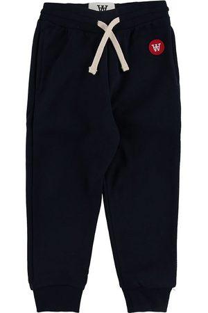 WoodWood Sweatpants - Ran Kids - Navy