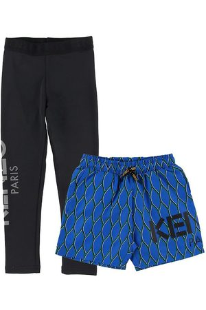 Kenzo Leggings/Shorts - Exclusive Edition - /Blå