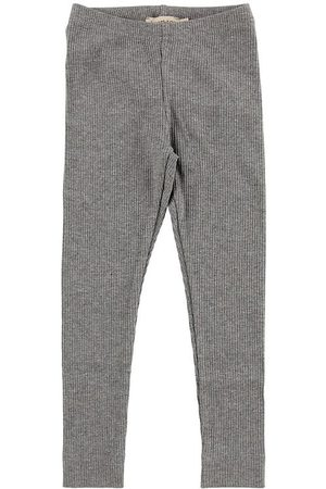 MarMar Flicka Leggings - Leggings - Modal - Grey Melange