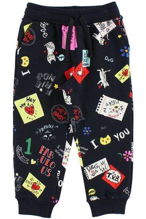 Dolce & Gabbana Sweatpants - Marinblå m. Tryck