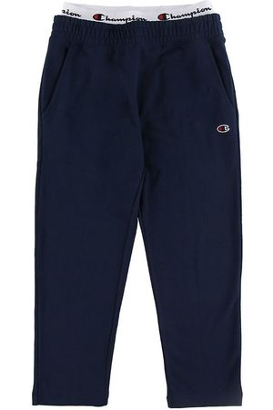 Champion Joggingbyxor - Sweatpants - Straight Hem - Navy
