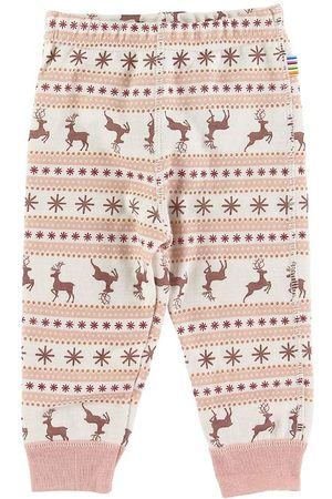 Joha Flicka Leggings - Leggings - Ull - / m. Mönster