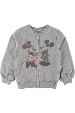 Disney Flicka Cardigans - Cardigan - Mickey & Minnie - Gråmelerad